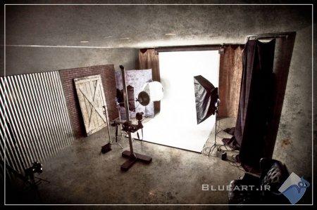 ساخت يك استوديوي عكاسي در خانه