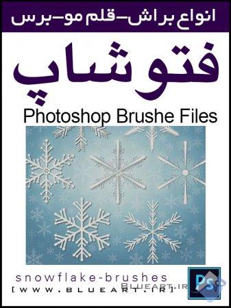 دانلود براش دانه های برف(snowflake-brushes-pepsized)