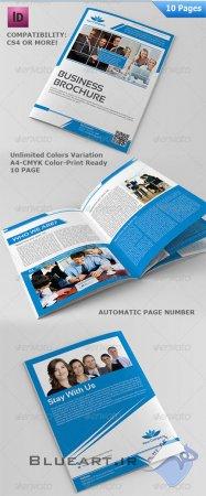 دانلود قالب آماده کاتالوگ 10 صفحه ای و بروشور- Page Multipurpose Business Brochure