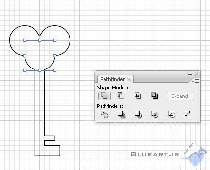 آموزش نرم افزار ایلوستریتور درس هفتم، (ایجاد مسیرهای مکعب در Illustrator)