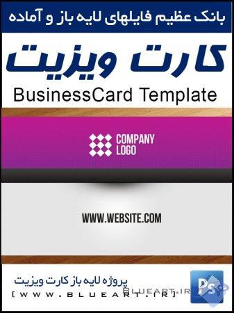 دانلود قالب لایه باز کارت ویزیت شماره 2 - Web Designer Businesscart Template
