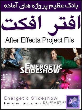 دانلود پروژه افتر افکت اسلاید شو - Energetic Slideshow Videohive