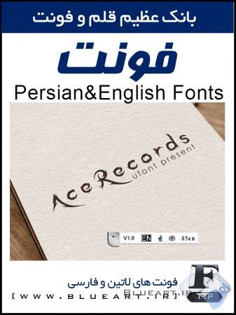 دانلود فونت زیبای ایس رکوردر- Ace Recorder Font