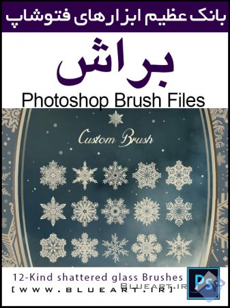 براش دانه های برف The Magical Snow flakes CUSTOM BRUSH