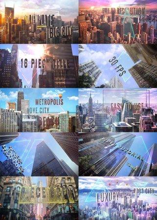 تصاویر پیش نمایش پروژه آماده افترافکت Titles of city
