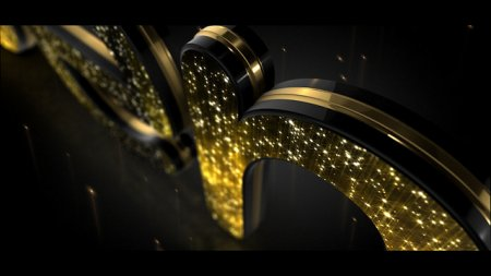 اسکرین شات پروژه Golden Elegance Logo