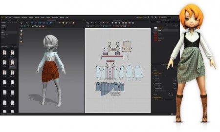 محیط نرم افزار طراحی لباس Marvelous Designer 7 Enterprise