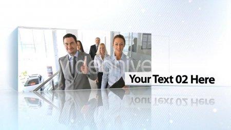 اسکرین شات پروژه آماده افترافکت Corporate Boxes Presentation