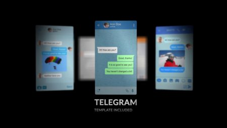 اسکرین شات پروژه آماده افترافکت Popular Messenger Builder v2
